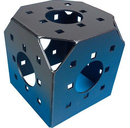 cubo 5 faces boxtruss Q15 preto