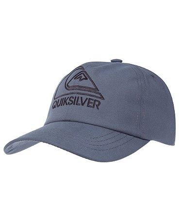 Boné Quiksilver Good Logo Cinza - VM Acessórios a24135dd2b8