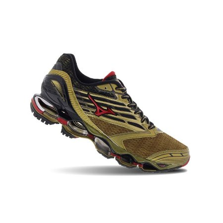 Tênis Mizuno Wave Prophecy 5 Golden Runners - Dourado