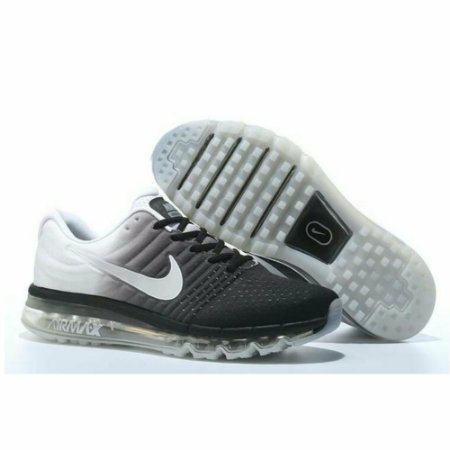 Tênis Nike Air Max 2017 Branco e Preto - FRETE GRÁTIS  43a2caf455bed