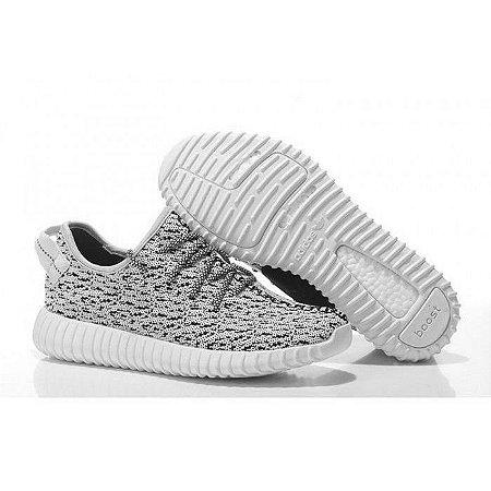 Tênis Adidas Yeezy Boost 350 - Creme e Cinza