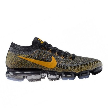 0712fdb4df3 Tênis Nike Air Max VaporMax Flyknit - Preto e Amarelo