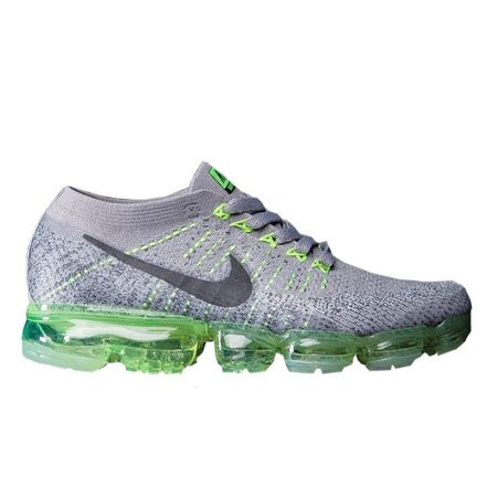 17948161db ... new zealand tênis nike air max vapormax flyknit cinza e verde 8ce4e  af6c9