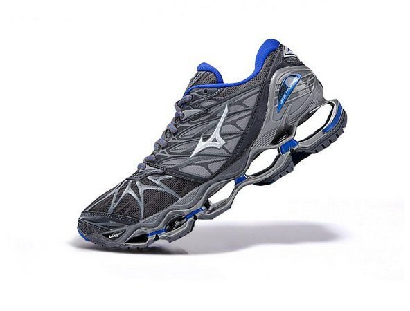 sports shoes 21832 ccbb2 Tênis Mizuno Wave Prophecy 7 - Cinza e Azul