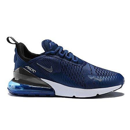 04f90a6d7 Nike Air Max 270 Azul e Branco - FRETE GRÁTIS