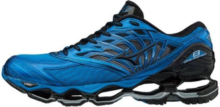 Tênis Mizuno Wave Prophecy 8 - Azul e Preto