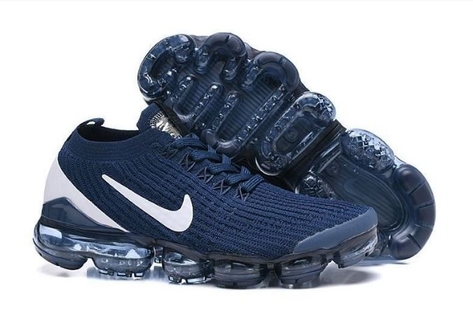 Tênis Nike Air Max VaporMax 3 - Azul e Branco
