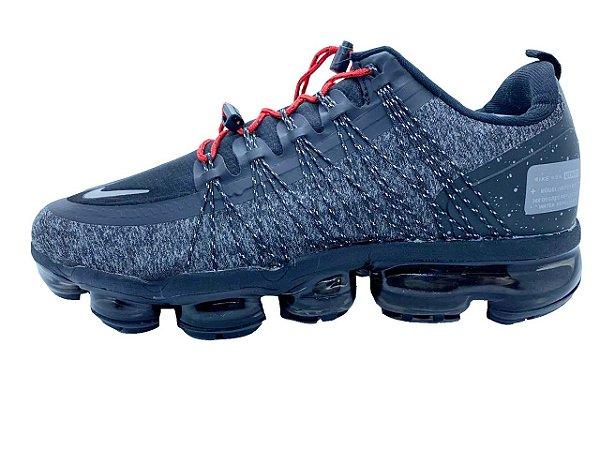 Tênis Nike VaporMax Utility - Cinza e Vermelho