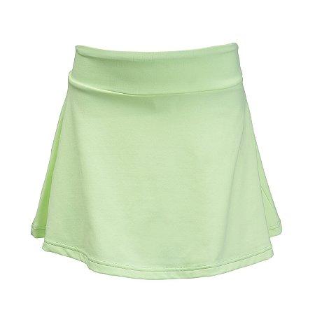 Shorts saia verde menta