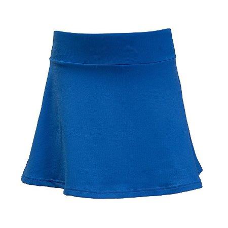 Shorts saia azul bic