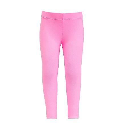 Legging infantil rosa chiclete