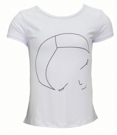 T-shirt infantil com silk