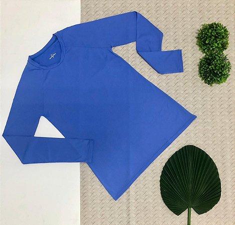 T-shirt Light Blue com Proteção Solar