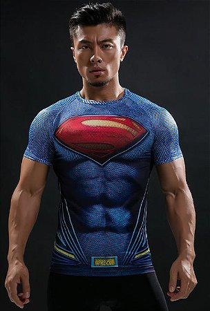 Camisa Superman - Liga da Justiça 2017