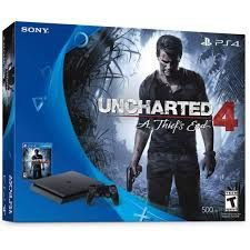 Playstation 4 Slim 500gb Ps4 Bundle Uncharted 4