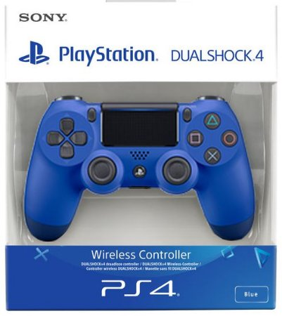 Controle Playstation 4 Dualshock 4 Azul Ps4