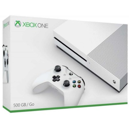 Xbox One S White 500gb Slim Branco