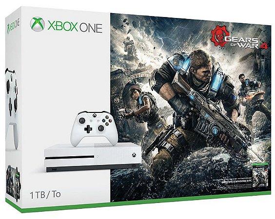 Xbox One S 1tb Bundle Gears Of War 4