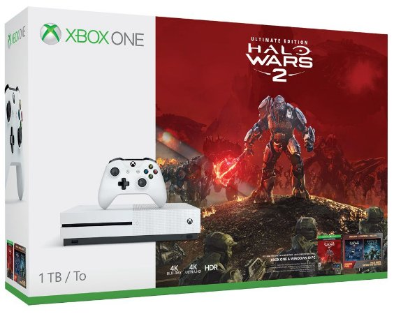 Xbox One S 1tb Bundle Halo Wars 2