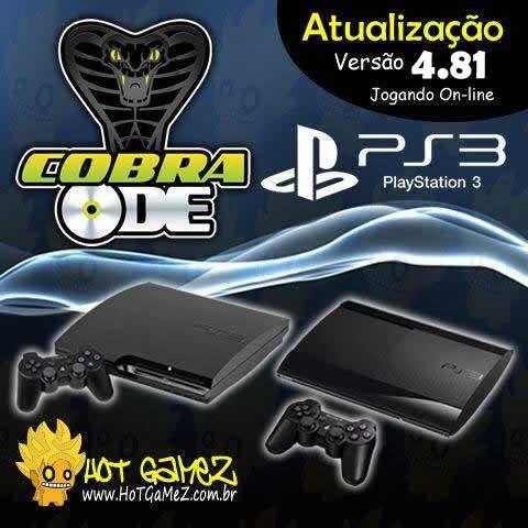 Atualização Cobra ODE PS3