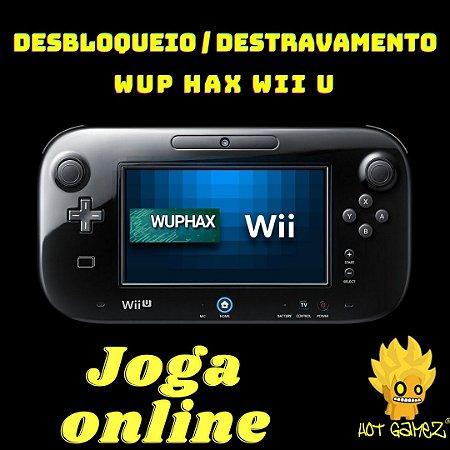 Desbloqueio / Destravamento Nintendo  Wuphax Wii U