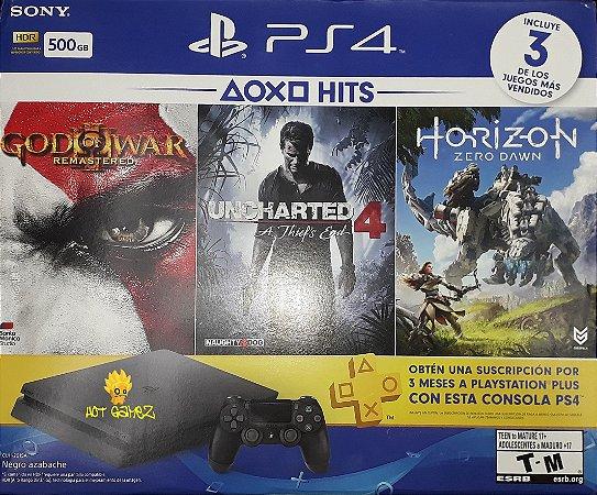 Playstation 4 Slim 500gb Ps4 Bundle PS Hits
