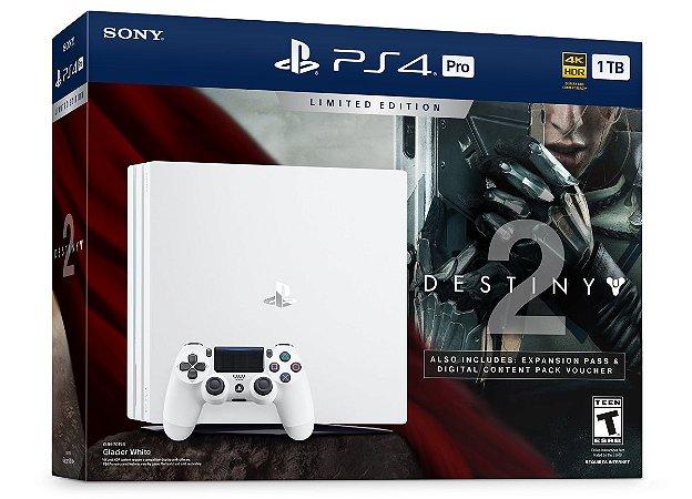 PlayStation 4 Pro 1TB Limited Edition Bundle Destiny 2