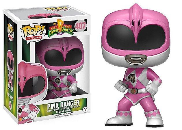 Boneco Vinil FUNKO POP! TELEVISION Power Rangers Pink Ranger