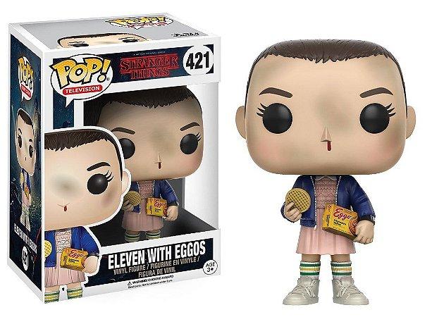 Boneco Vinil FUNKO POP! Television Stranger Things - Eleven (Eggos)