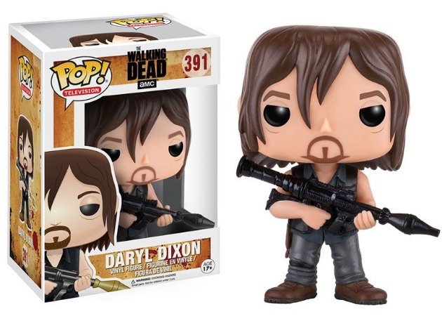 Boneco Vinil FUNKO POP! Television The Walking Dead - Daryl Rocket Launcher