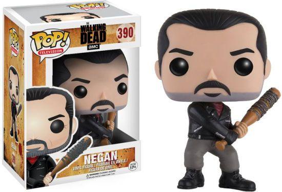 Boneco Vinil FUNKO POP! Television The Walking Dead - Negan