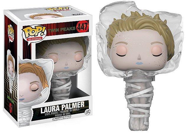 Boneco Vinil FUNKO POP! TELEVISION Twin Peaks Laura in Plastic Wrap