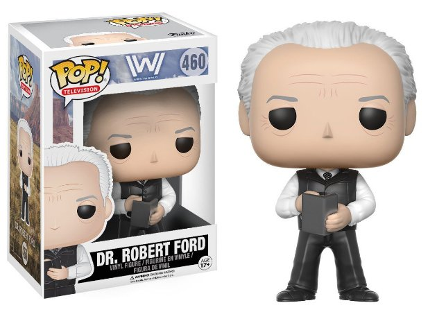 Boneco Vinil Funko Pop! Television Westworld - Dr. Robert Ford