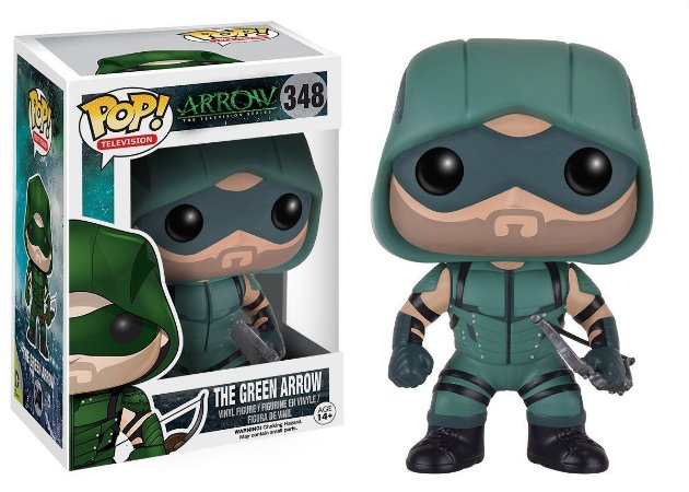 Boneco Vinil FUNKO POP! TV Arrow - Green Arrow
