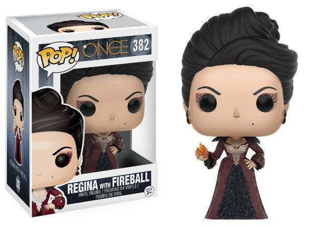 Boneco Vinil FUNKO POP! TV Once Upon A Time Regina with Fireball