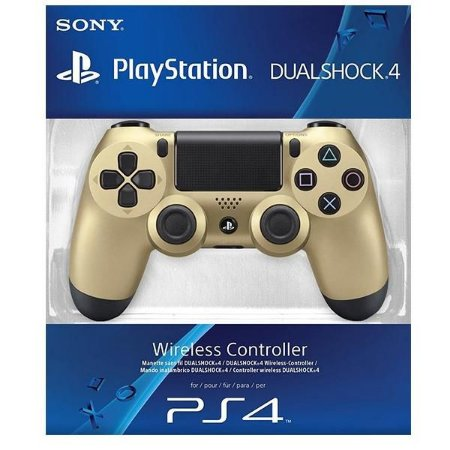Controle Playstation 4 Dourado Dualshock 4 Gold Ps4