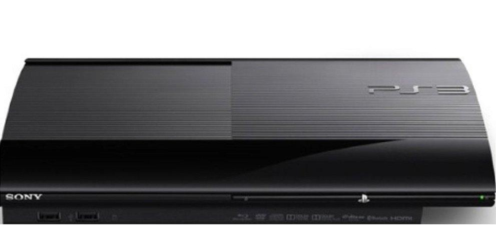 Lote Playstation 3 Super Slim 250gb Ps3 Ultra Slim Semi Novo