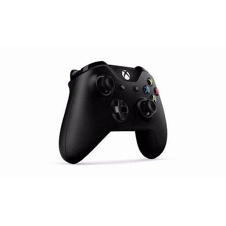 Controle Xbox One S Wireless Black Slim Preto Original Sem Caixa
