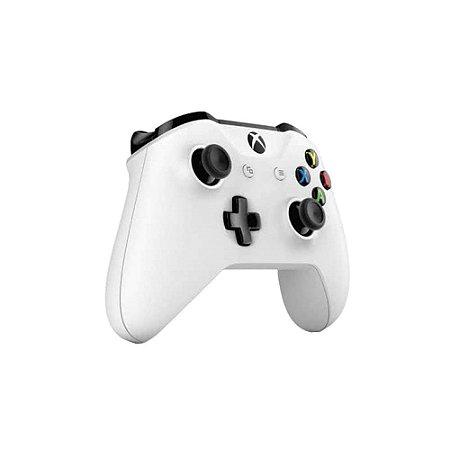 Controle Xbox One S Wireless White Slim Branco Original Sem Caixa
