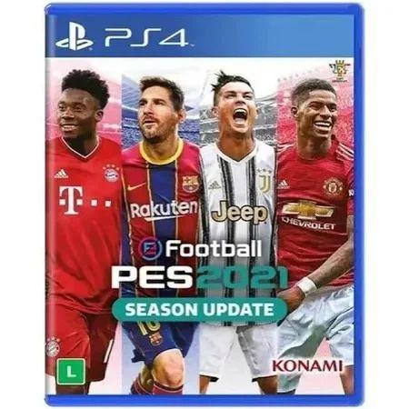 Jogo PS4 - PES 21 Pro Evolution Soccer 2021