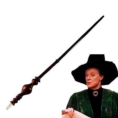 Varinha Mágica Harry Potter- Profª Minerva- Alta Resistência