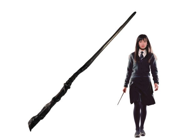 Varinha Mágica Harry Potter- Cho Chang- Alta Resistência