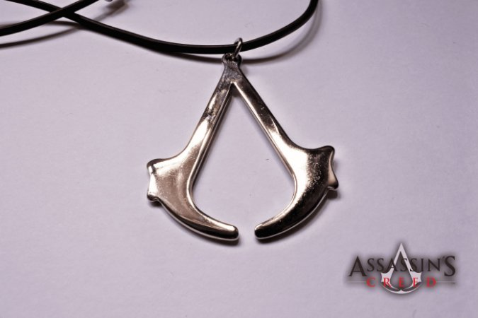 Colar Assassin's Creed- Metal