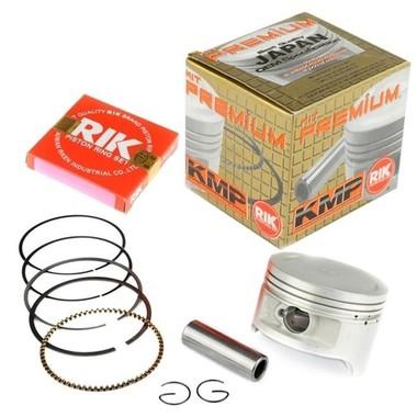 Kit Pistão com Anéis Premium Cg 125 2002 A 2008 - Bros 125 03 A 05 0.50