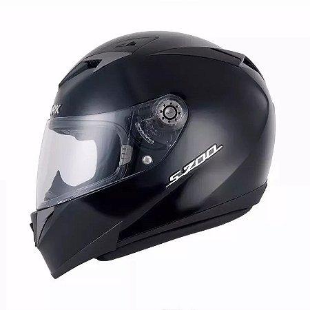 Capacete Motociclista S700 Preto Prime Black