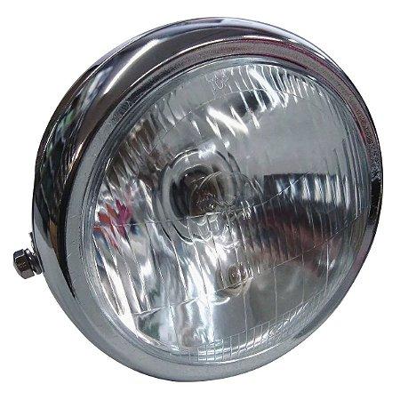 Farol Completo Suzuki Intruder 125 Com Lampada