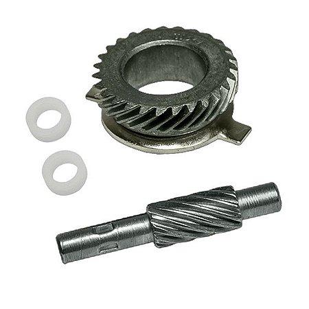 Engrenagem Velocímetro Pinhão Motriz Em Aço Cg 150 Ks