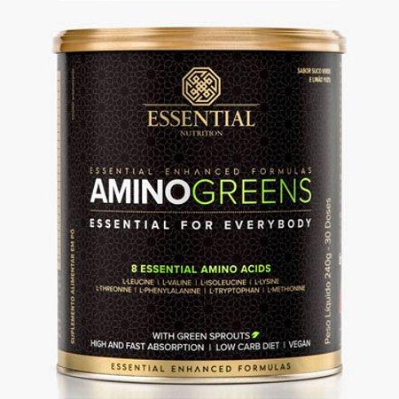 Amino Greens Lata 240g - Essential