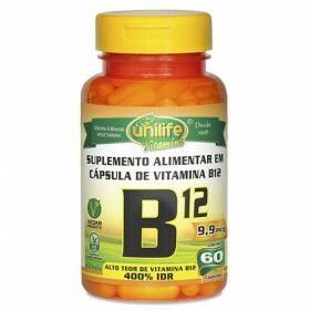 Vitamina B12 Cianobalamina Unilife