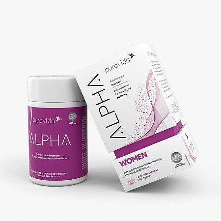Alpha Woman - Pura Vida 60 cápsulas